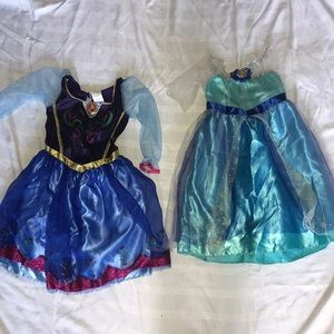 Ana & Elsa Dress Up Dresses